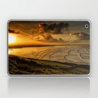 Surfer Sunrise Laptop & iPad Skin