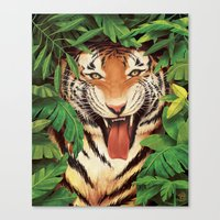 Guardian Of The Jungle Canvas Print
