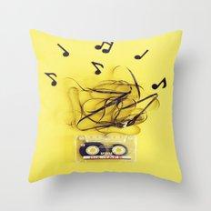 Mix Tape (ANALOG ZINE) Throw Pillow