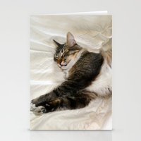 Cat Dreaming Stationery Cards