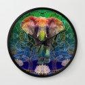 Wandering Elephant Wall Clock