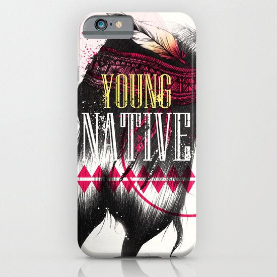 Young Native iPhone & iPod Case