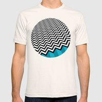 ZIGZAG Mens Fitted Tee Natural SMALL