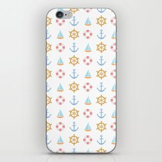 The Essential Patterns of Childhood - Sailing iPhone & iPod Skin
