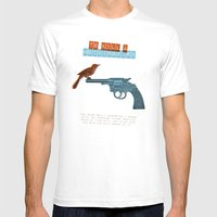 To Kill a mocking bird Mens Fitted Tee White SMALL