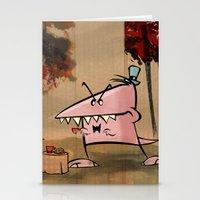 Dennis Dinosaur Hates Af… Stationery Cards