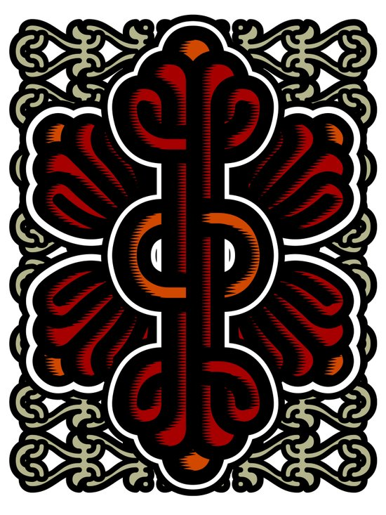 Biotica 2 Art Print