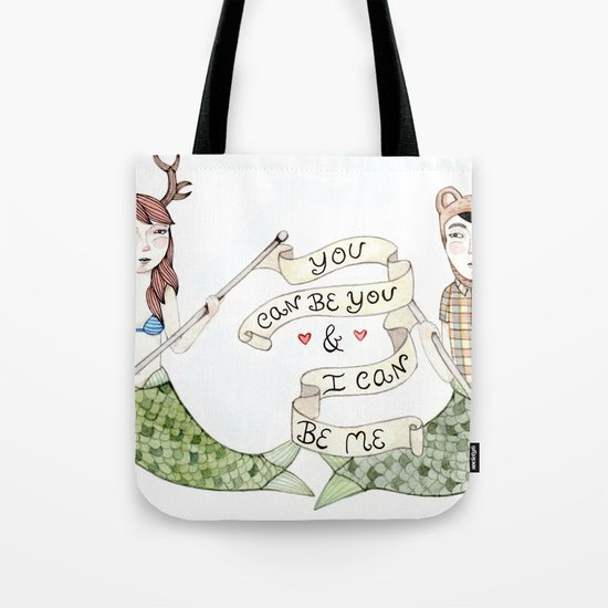 You Can Be You Tote Bag