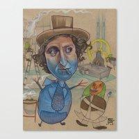 THE BLUEBERRY PROBLEM Canvas Print