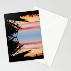 REVERSED SUMMER SHADOWS Stationery Cards