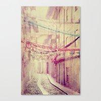 street party Canvas Print