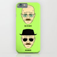iPhone & iPod Case featuring Walter White or Heisenberg? by Johnny Cobalto