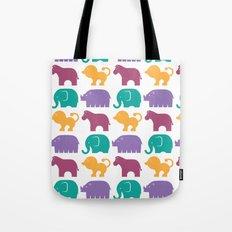 Fun at the Zoo: Pattern Tote Bag