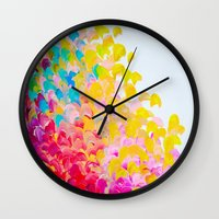 CREATION IN COLOR - Vibr… Wall Clock