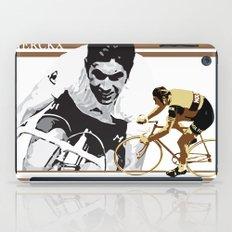 cycling legend Eddy 'The Cannibal' Merckx iPad Case