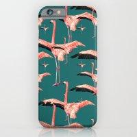 tropical flamingos  iPhone 6 Slim Case