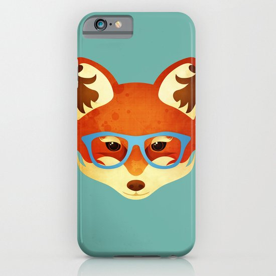 Hipster Fox iPhone & iPod Case