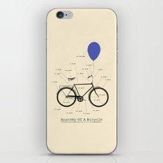 Anatomy Of A Bicycle iPhone & iPod Skin