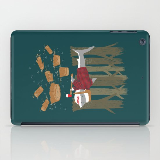 LumberJack Shark iPad Case