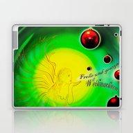 Laptop & iPad Skin featuring Frohe Und Gesegnete Weih… by Walter Zettl
