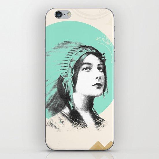 The Adventurer  iPhone & iPod Skin