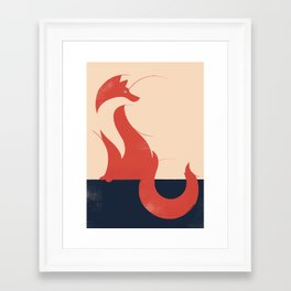 Framed Art Print - fox - Jay Fleck