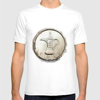 Coin Mens Fitted Tee White SMALL