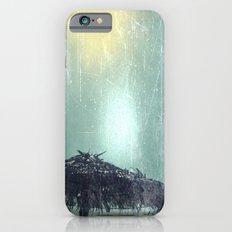 Umbrella on Beach (alt) iPhone 6 Slim Case