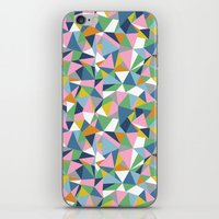 Abstraction Repeat Pink iPhone & iPod Skin
