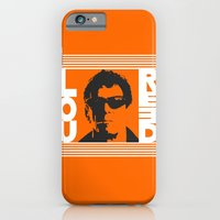 iPhone Cases featuring Lou Reed by Silvio Ledbetter