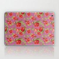 Rose pattern- pink Laptop & iPad Skin