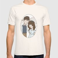 500 days of summer portrait. Mens Fitted Tee Natural SMALL