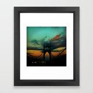 Bridge To Portland - St.… Framed Art Print