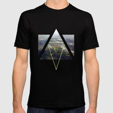 up that hill. Black SMALL Mens Fitted Tee