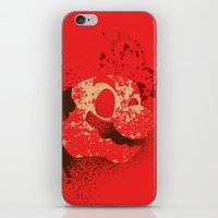 The Red Knight (Red Vers… iPhone & iPod Skin