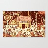 Eureka Factory Canvas Print