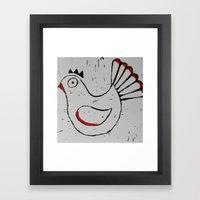 Chick Framed Art Print