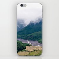 Mount St. Helen's River iPhone & iPod Skin