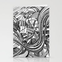 Into The Wild (b&w Versi… Stationery Cards