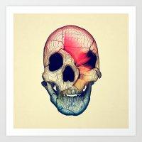 Life Will Tear Us Apart Art Print