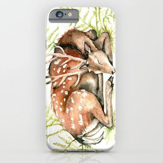 Sleeping Deer iPhone & iPod Case
