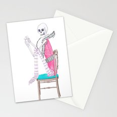 circus skeleton Stationery Cards