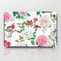 Pattern of vintage rose iPad Case