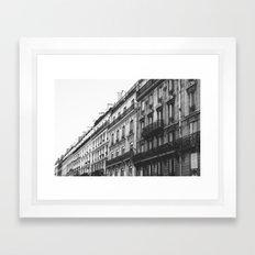 Paris Street Framed Art Print