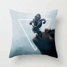 Effervescent in the Pure of Water Throw Pillow
