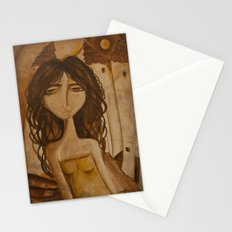Moon Girl Stationery Cards