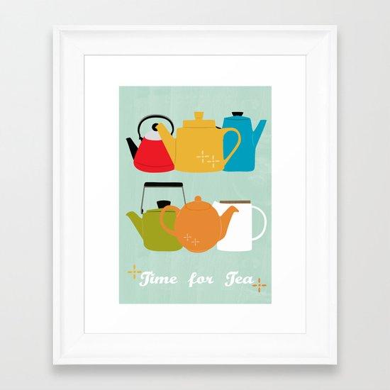 Time for Tea! Framed Art Print