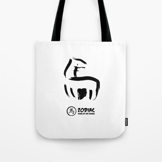 Chinese Zodiac - Year of the Horse Tote Bag