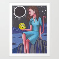 Blackstar Art Print