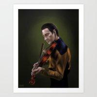 Star Trek: Data [2] Art Print